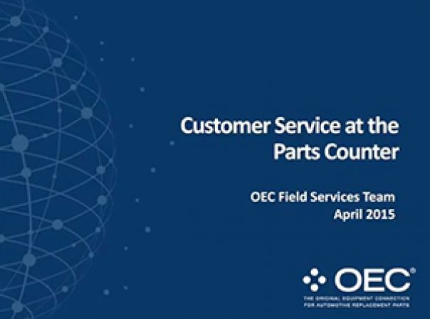Podcast: Customer Service at the Parts Counter