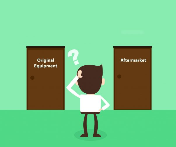 ​​Do your customers know the difference between OE and Aftermarket? Remind customers of the hidden benefits when choosing OE