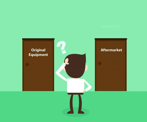 Do your customers know the difference between OE and Aftermarket? Remind customers of the hidden benefits when choosing OE