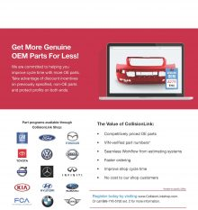 Get more genuine OEM parts for less